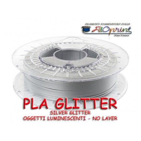 PLA GLITTER SUPERFICI GLITTERATE LUMINESCENTI FACILI DA STAMPARE
