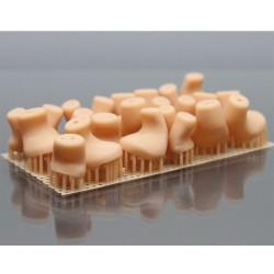POROLAY GEL MATERIALE GELATINOSO SOLUBILE IN ACQUA STAMPA 3D ABBIGLIAMENTO