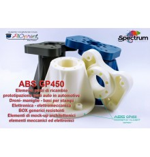 ABS GP450 ALTA QUALITA NO WARPING ALTISSIMA STABILITA DIMENSIONALE FILETTABILE USI PROFESSIONALI