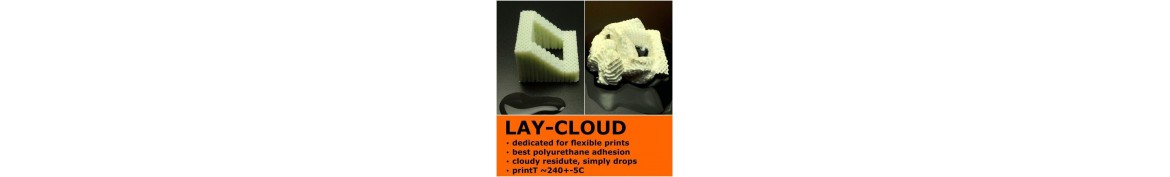 LAY-CLOUD PVA SUPPORTO GOMMA