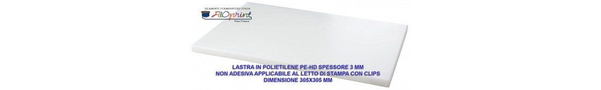 LASTRA POLIETILENE PE-HD 305X305 SP 3 MM